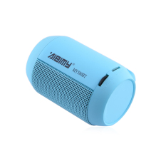 ZUNCLE MY-500BT Mini Portable Bluetooth Wireless Speaker with Colorful LED Light Subwoofer HIFI Speaker Support USB TF Card (Blue)