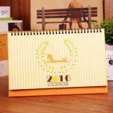 2016 Cartoon Animal Table Agenda Memo Office Desk Calendar (Giraffe) - Intl