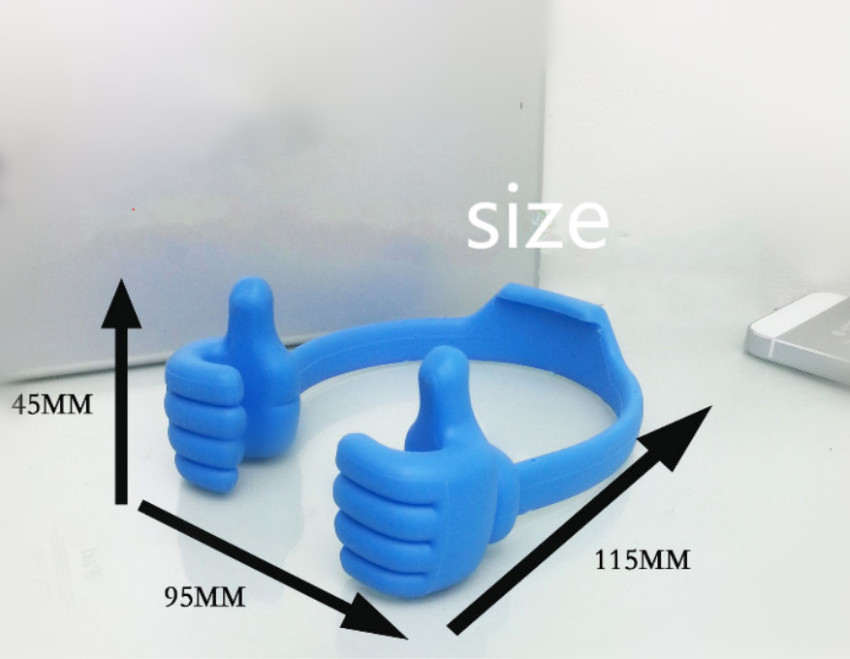 2016 High Quality Phone Holder Finger Hug Phone Holder (Blue) (Intl)