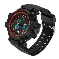 2016 High Quality SANDA 729 Multi-purpose Outdoor Sports Watch (Red)
