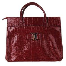 2016 New Luxury OL Lady Bags Handbags Women Famous Brands Crocodile Pattern Hobo Handbag Tote Fashion Lady PU Shoulder Handbag - INTL