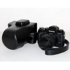 2016 NEW ! PU Leather Case Bag Cover For Camera Case Bag For Nikon D5500 Digital SLR Camera Without Strap, Color:black - Intl