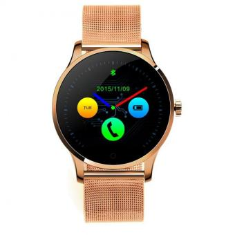 2017 HOT Bluetooth Smart Watch Monitor For IOS And Android Phone (Rose Gold)