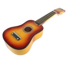 21 Inch 6 String Acoustic Guitar Orange - Intl
