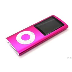 2GB Multiple Color Mp4 / Mp3 Player with FM Recorder (Pink)