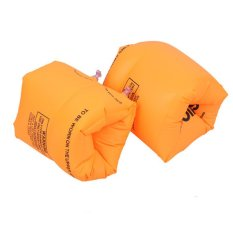 2Pcs Childrens Kids Baby Learn To Swim Inflatable Safe Float Swimming Arm band Ring (Intl)
