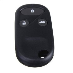 3 Buttons Black Remote Key Fob Case Shell Cover For Honda Civic CRV Accord Jazz (Intl)