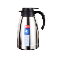 1.5L-Silver-Stainless Steel Vacuum Thermo Jug Double Wall Insulated Pot, Thermos Carafe - Intl