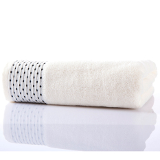 100% Cotton Thickened 140*70cm Face Towel Hand Towel Soft and Water Absorption (Intl)