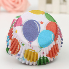 100Pcs Colorful Paper Cake Chocolate Liner Baking Muffin Cup Wrappers (Intl)