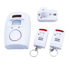 105dB Wireless IR Infrared Remote Security System Motion Detector Alarm (Intl)
