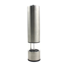1PC Stainless Steel Portable Electric Pepper Mill (Intl)