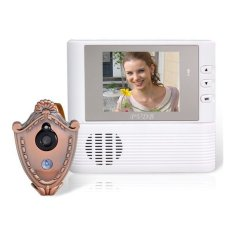 2.8inch Color LCD Video Door Phone Set (White)