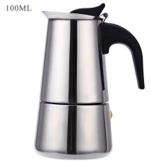 2 Cups 100ML Stainless Steel Mocha Espresso Latte Percolator Coffee Maker ...