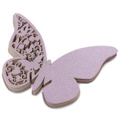 20 Buah Kartu Undangan Pesta Pernikahan Romantis Pola Ukiran Halus Source · 20 Buah Kupu kupu