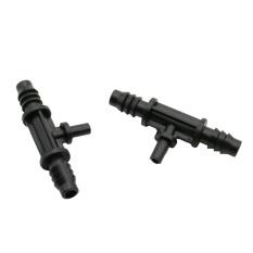 20pcs Adjustable Tee 8 / 11mm Hose Connectors Turn 6mm Standard Fog Nozzle Interfaces Landscape Irrigation Accessories - intl