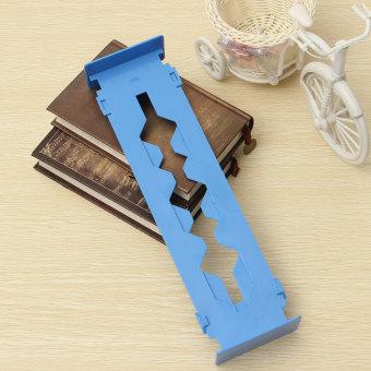 2PCS Retractable Clapboard Drawer Divider Storage Organiser Kitchen Wardrobe (Blue)