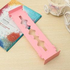 2PCS Retractable Clapboard Drawer Divider Storage Organiser Kitchen Wardrobe (Pink) - Intl