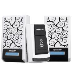 2x Doorbell Wireless Waterproof 36 Music Remote Control 2 Receicers (Intl)