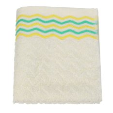 32x71cm Cotton Towel Face Cloth Hand Bath Towel Yellow - Intl