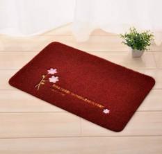 40X60CM, 50X80CM Modern Minimalist Solid Bedroom Bath Mats Hot Sale Floor Door Table Carpet Kicthen Non-Slip Rug
