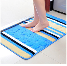 40X60CM 50X80CM New Hot Sale Absorbent Home Decoration Non-slip Mats Bathroom Toilet Mat Embroidered Floor Carpet
