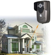 7 Inch Video Door Phone Doorbell Intercom Kit 1camera 1monitor Night Vision (Intl)