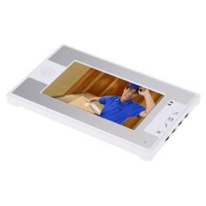 "7"" TFT Color Video Door Phone Intercom Doorbell Home Security System Kit IR Camera Monitor Speakerphone Intercom (Intl)"