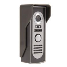"""7"""" Video Door Phone Doorbell Intercom Kit 1-Camera 1-Monitor (US Plug) (Intl)"""