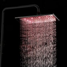 8 inches ORB shower head with led