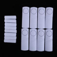 8Pcs Wireless Window Door Magnetic Sensor Burglar Entry Alarm Home Security (Intl)