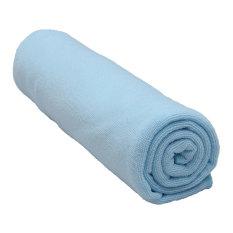 Absorbent Microfiber Towel Bath Quick Drying Washcloth Bath Light Blue (Intl)