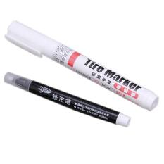 Ai Home 2 Pcs Waterproof Paint Marker Pen Permanent Car Tire Ink Dauber Pen White