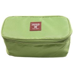 Ai Home Travel Hygienic Bag Storage Underwear Bra Holder Bag Green