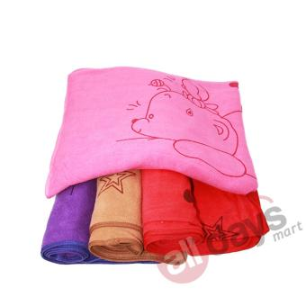 Jual Alldaysmart Handuk Mandi Motif Beruang Tidur 1609-400 - Random Colour - Alldays Mart di Lazada | OmJoni.com