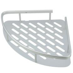 Aluminum Shower Wall Mount Corner Shelf Holder Bathroom Storage Caddy Organizer (INTL)