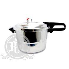 AMOR Panci Presto 8 Liter Multifungsi (Full Stainless Steel)