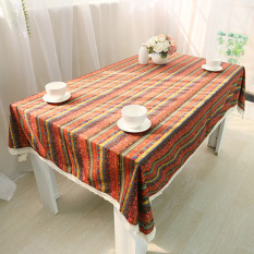 B:60*60 Bohemia Coffee Table Cloth Tablecloth (Intl)
