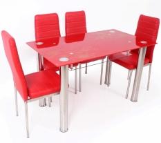 Best Dining Set Meja Makan MK - R 4022 - Merah
