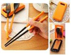 Best Portable Cutlery Set / Set Alat Makan Sendok Garpu Sumpit (Saran Terhindar Penyakit Menular)