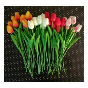Bunga Plastik   Artificial Sakura Besar Murah. Rp.65.300 Dimana Beli · Bunga  Tulip 98089d955d