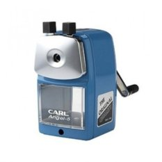 Carl Angel-5 Pencil Sharpener - Blue Color (Intl)
