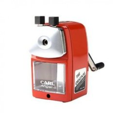 Carl Angel-5 Pencil Sharpener - Red Color (Intl)