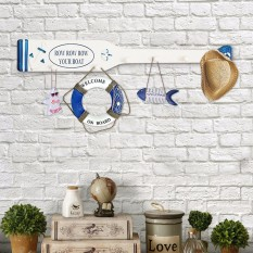 Continental Oars Clothing Hanger Hook Row Hook Home Decor Decorative Wall Hangings Wall - Intl