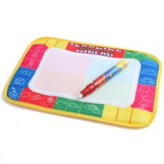 Coolbox CB136.29X19cm 4 Color Water Drawing Toys Mat Aquadoodle Mat&1 Magic Pen / Water Drawing Board / Free Shipping Dropping