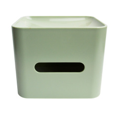 Creative Multipurpose Desktop Tissue Box Green- Intl