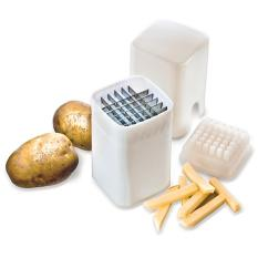 Custom Fried Fries Maker / Alat Pemotong Kentang / Pengiris Kentang / Perfect Fries - Putih