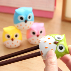Cute Plastic Owl Pencil Sharpener Cute Animal Pencil Sharpener Korean Creative Stationery Gifts For Kids-green