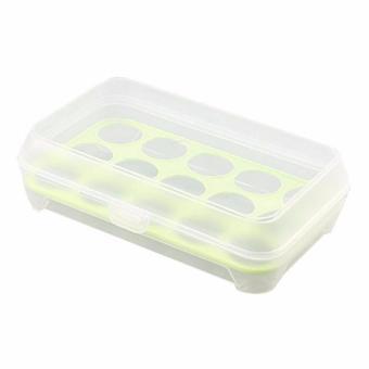 Jual DapurBunda RTR Kotak Telur Isi 15 Grid Egg Box Egg Case / Tempat Penyimpanan Telur
