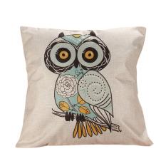 Decor Box Retro Cotton Linen Throw Compass Cushion Cover Pillowcase 05 (Intl)